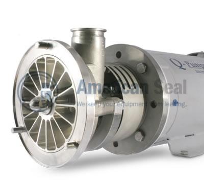 Sanitary centrifugal pump